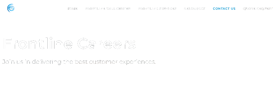Frontline Call Center